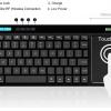 Rikomagic K8 wireless keyboard
