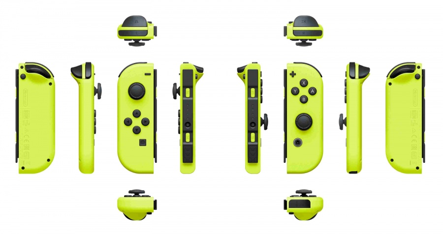 Nintendo Switch Joy-Cons Neon Yellow