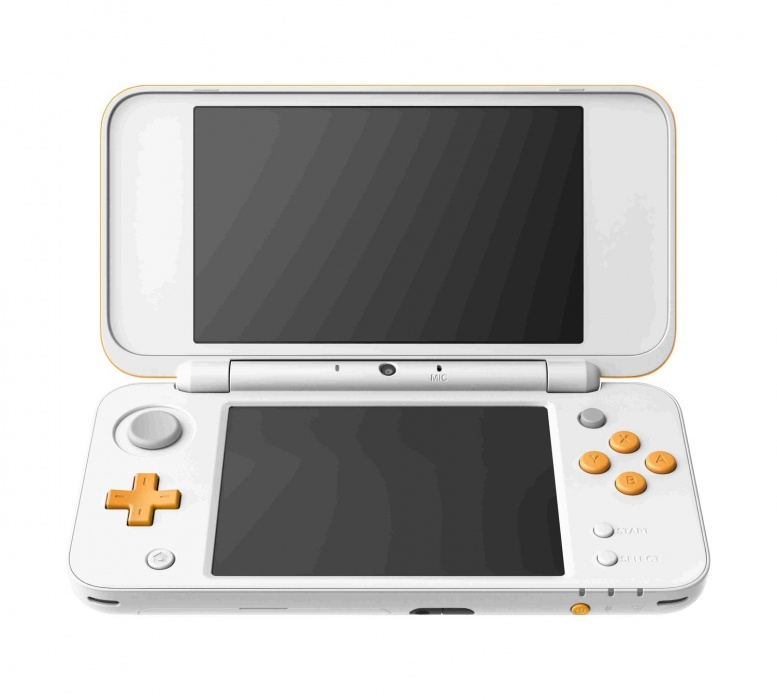 New Nintendo 2DS XL White & Orange