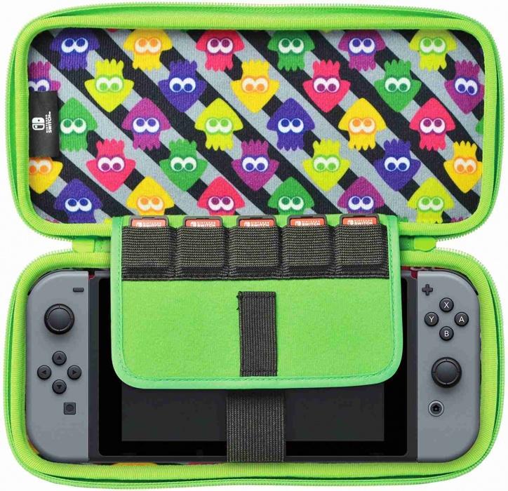 etui do konsoli Nintendo SWITCH z motywem z gry Splatoon 2
