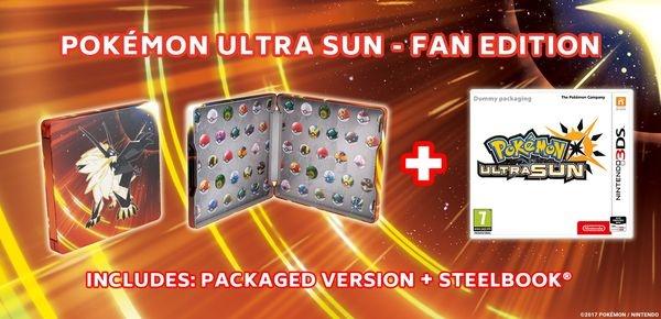 Pokémon Ultra Sun Steelbook Edition