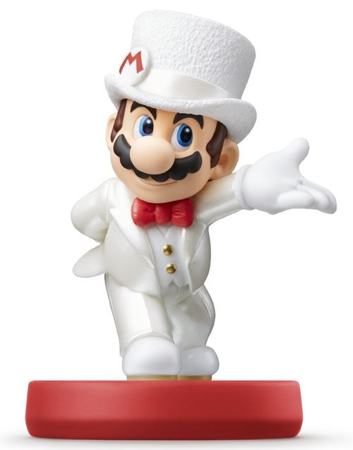 Amiibo Super Mario - Wedding Mario