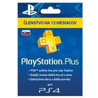 PlayStation Plus Card 365 Days Hang SK