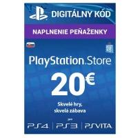 PlayStation Live Cards 20 EUR Hang SK