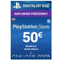 PlayStation Live Cards 50 EUR Hang SK