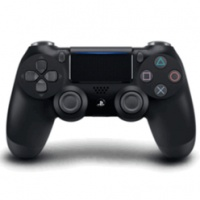 PS4 DualShock 4 Wireless Cont. V2 Jet Black