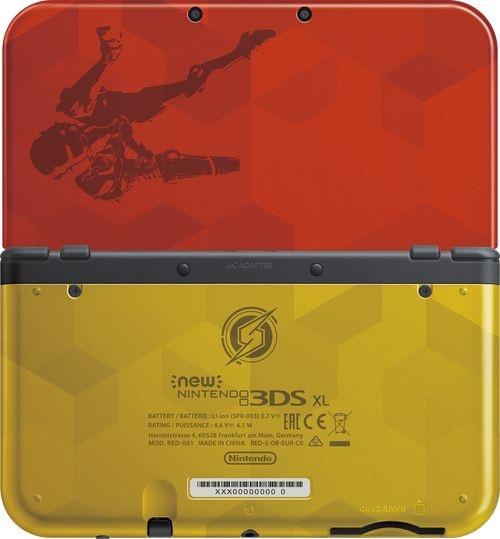 New Nintendo 3DS XL z motywem z gry Metroid: Samus Returns