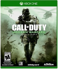 XONE Call of Duty: Modern Warfare Remastered