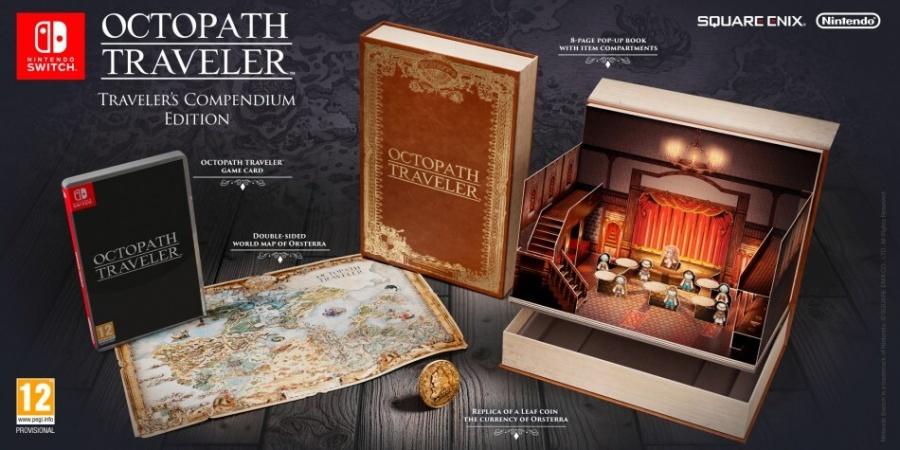 SWITCH Project Octopath Traveler Edycja Traveler's Compendium