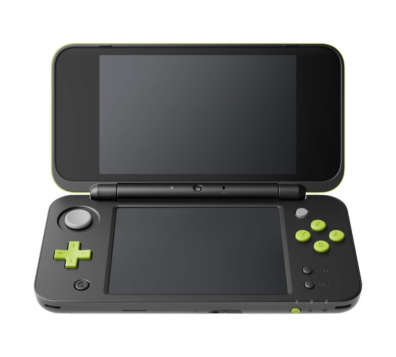 New Nintendo 2DS XL Black&Lime Green