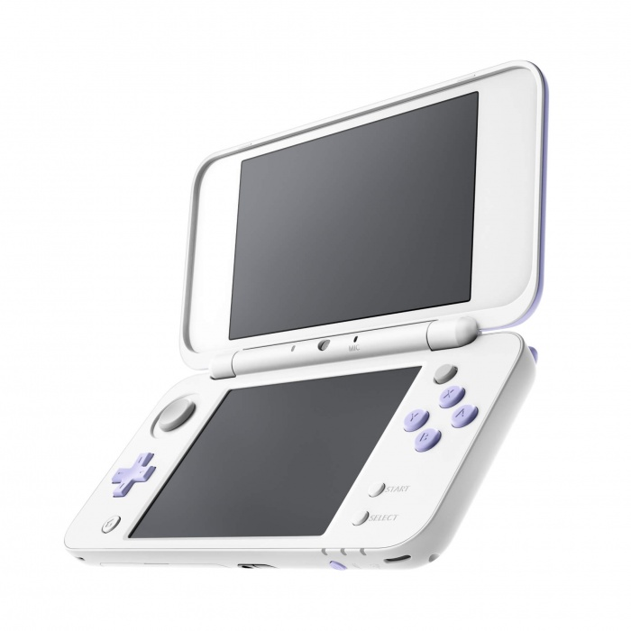 New Nintendo 2DS XL White&Levander