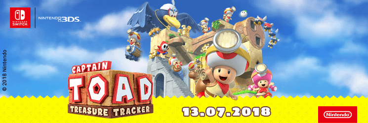 PL Captain Toad: Treasure Tracker