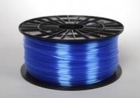 Tisková struna filament PETG,1,75mm,1kg,tran modrá