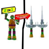 TMNT Żółwie Ninja ZMIENIAJĄCE SIĘ na broń RAPHAEL
