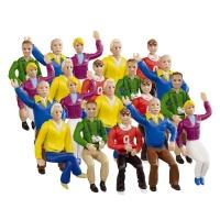 21129 Figurki - Kibice główna trybuna