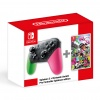 SWITCH Splatoon 2 + Pro Controller Splatoon ed.