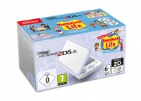New Nintendo 2DS XL White&Levander+Tomodachi pre-i