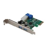 i-tec PCI-E 4x USB 3.0 port 2x ext 1x int 19pin