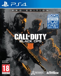 PS4 Call of Duty: Black Ops IV Pro Edition