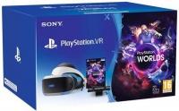 PlayStation VR + Cam V2 + VR Worlds