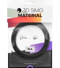 3DSimo Filament PLA - czarny, złoty, szary 15m