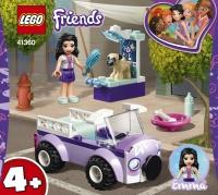 LEGO Friends 41360 Emma a mobilní veterinární klin