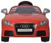 Elektryczne auto Audi TT RS Plus czerwone