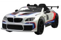 Elektryczne auto BMW M6 GT3 białe