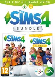 PC The Sims 4 Bundle Základní hra+Život na ostrově