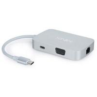 Minix NEO-C Multiport Adapter USB-C VGA Grey