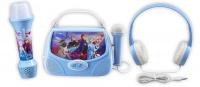 Zestaw Frozen II - słuchawki, latarka, zestaw do karaoke
