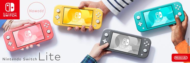 PL Nintendo Switch Lite Coral
